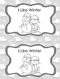 I Like Winter- Book