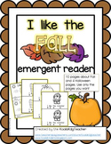 I Like the Fall Emergent Reader