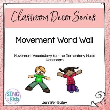 Movement Word Wall