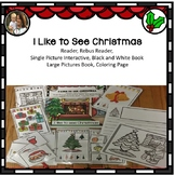 Christmas: I Like to See at Christmas Interactive and Adapted Story, Activities