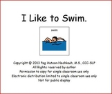 Interactive Book: I Like to Swim