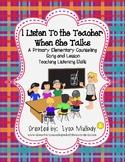 I Listen To the Teacher