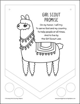 Girl Scouts Coloring Pages Worksheets & Teaching Resources | TpT | 350x271