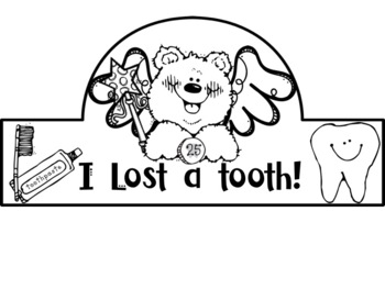 I Lost A Tooth Headband Crown