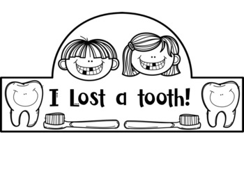 I Lost A Tooth Headband Crown: Back to School