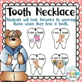 I Lost A Tooth Necklace: Dental Health