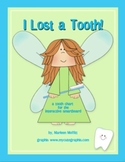 I Lost A Tooth  a chart for Interactive Smartboard Tooth Fairy (Notebook 11)