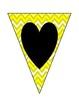 I Love 1-6th Grade Pennant Banner