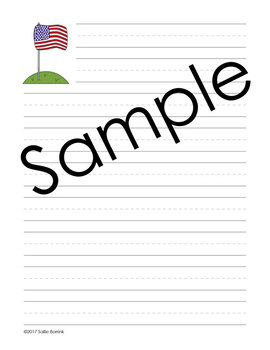 America Writing and Notebooking Pages