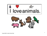I Love Animals Song Book
