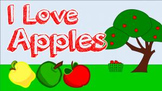 I Love Apples! (video)
