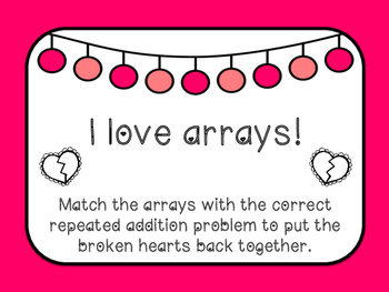 I Love Arrays! - Broken Heart Matching Center with recordi