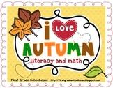 Autumn Literacy and Math