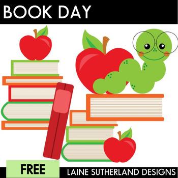 I Love Books! Clip Art Freebie