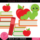I Love Books! Clip Art Freebie