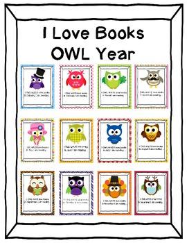 I Love Books OWL Year