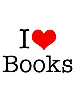 """I Heart Books"" Poster Pack Freebie"