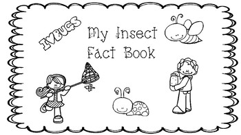 I Love Bugs Fact Recording Booklet