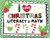 Christmas Literacy and Math Activities and Centers