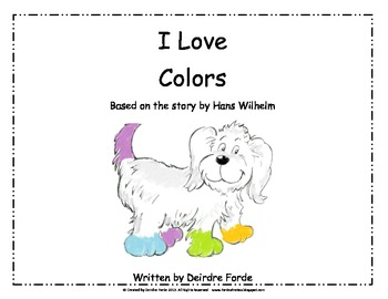 I Love Colors- Hans Wilhelm