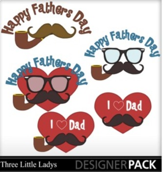 I Love Dad Clipart