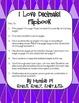 I Love Decimals! Flipbook with Decimal Activities-6.NS,3,6.NS.7,5.NBT.3.b