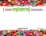 I Love Engineering Worksheet