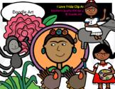 I Love Frida Clip Art Pack