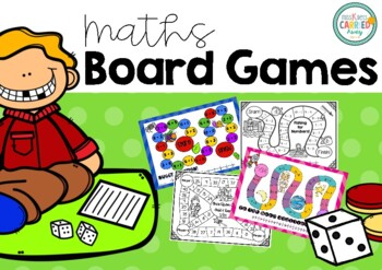 I Love Game Boards! Math Centre Activities 0-20!