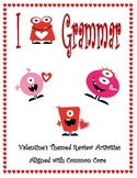 I Love Grammar: A Valentine Themed Review Activity