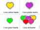 I Love Hearts Emergent Reader