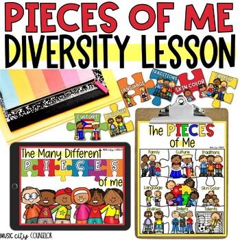 I LOVE ME! Self-Esteem & Diversity Lesson & Activity!