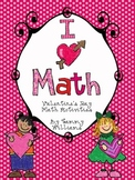 I Love Math  Valentine's Day Activities
