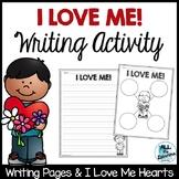 I Love Me Writing Activity