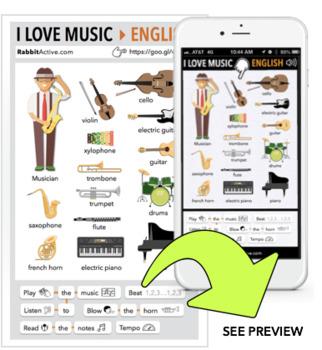 I Love Music > PDF + Interactive Lesson