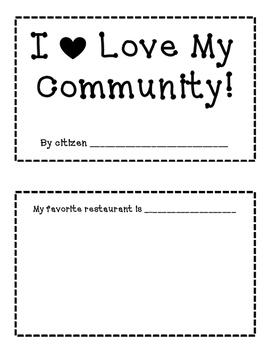 I Love My Community