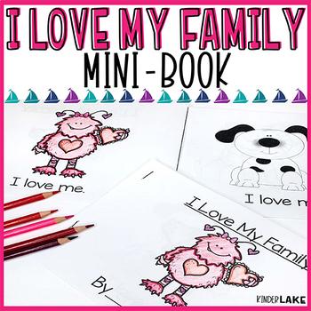 I Love My Family Mini Book