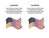 I Love My Flag Poem