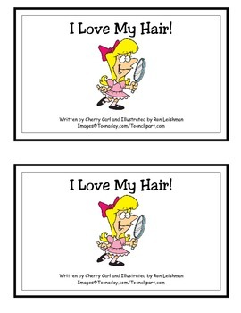 I Love My Hair! Guided Reader (-air Word Family)
