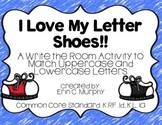 I Love My Letter Shoes! Write the Room
