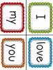 """I Love My"" Little Book & Pocket Chart Set"