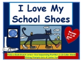 I Love My School Shoes with Pete the Cat - Cool Centers