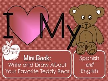 I Love My Teddy Bear-Student Mini Book-Spanish and English