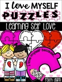 Puzzle Writing Activity for Valentine's Day