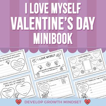 I Love Myself - Valentine's Day - Mini-Book
