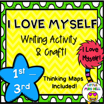 I Love Myself Writing Activity and Craft