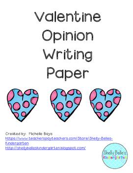 I Love...Opinion Writing