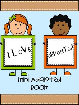 I Love Opposites Mini Adapted Book
