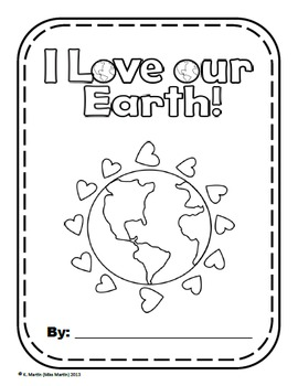 Earth Day Writing Prompts - I Love Our Earth!