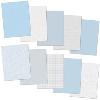 I Love Pastel Blue - 10 Digital Papers